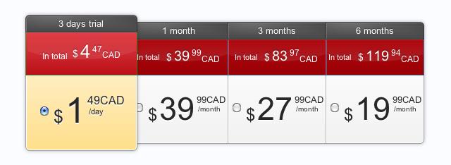 BeNaughty-Prices