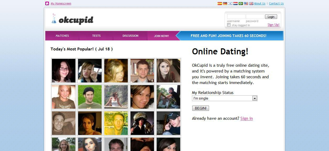 online dating free sites
